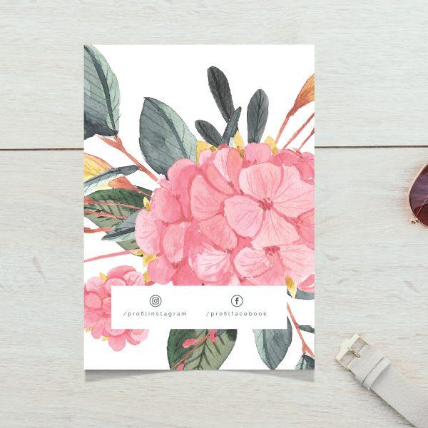 podziekowanie za zakupy w sklepie kwiaty