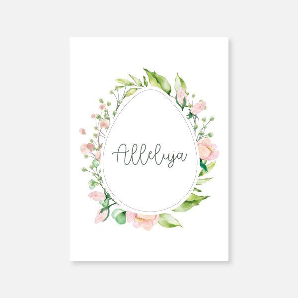 Firmowa kartka wielkanocna Egg wreath (1)