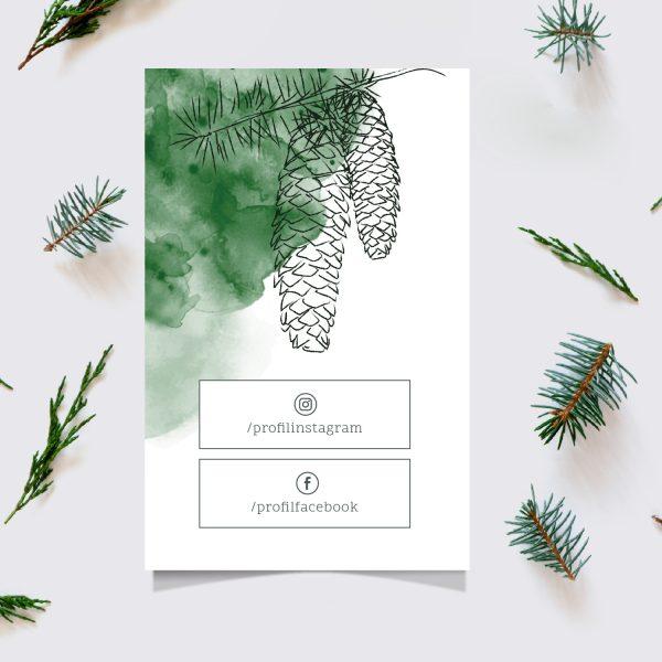 Leśny kupon rabatowy z Twoim logo