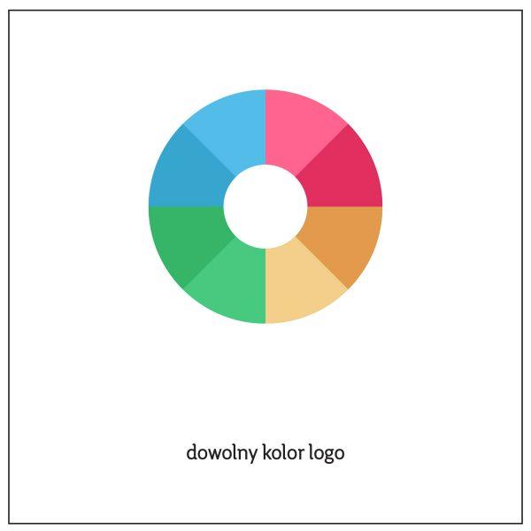 dowolny kolor logo