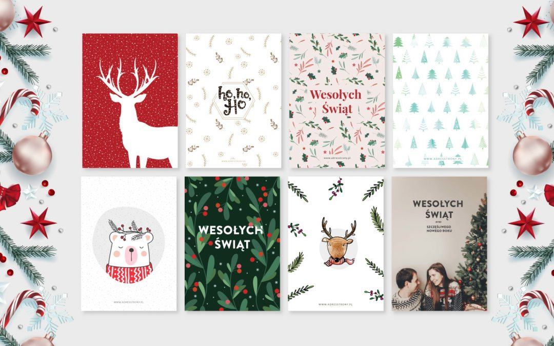 Przegląd kartek świątecznych dla firm 2020 – wideo