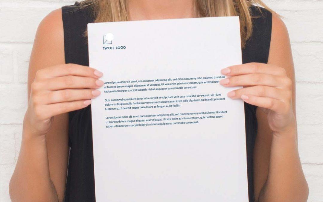Papier firmowy wzór – jak stworzyć papier firmowy?